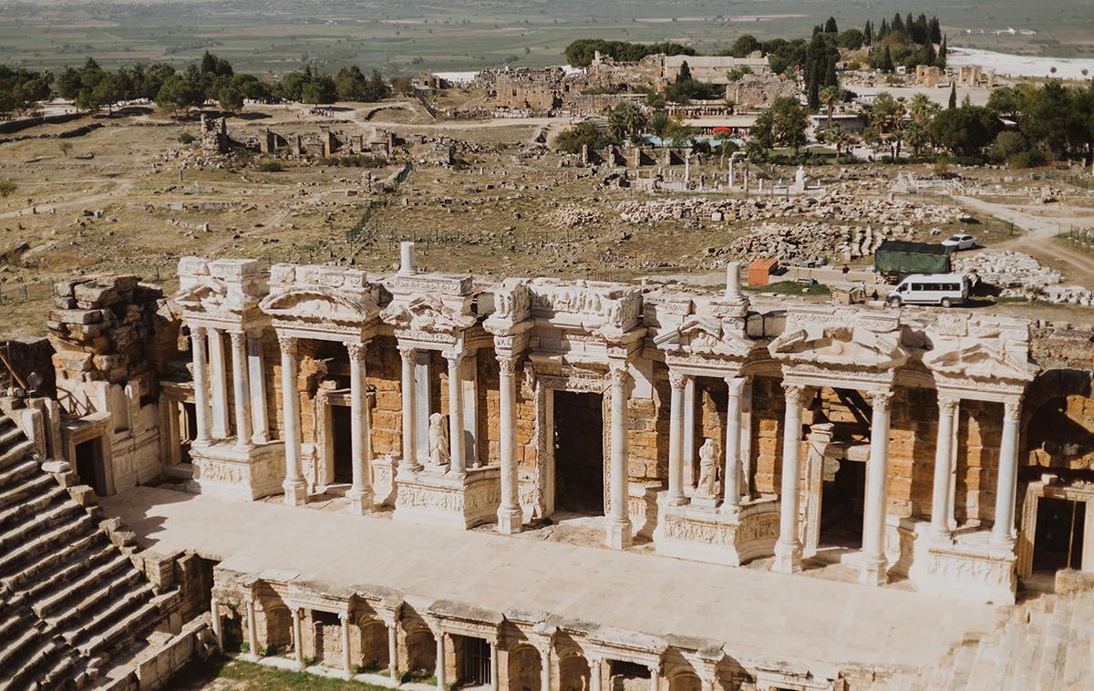 Buildings in Turkey Ephesus.